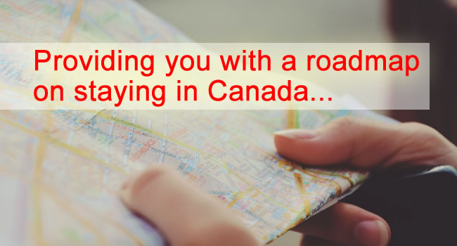 NuVista Immigration provides you with a roadmap on staying in Canada